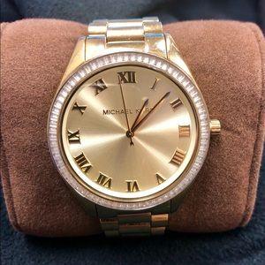 Michael Kors Blake Champagne Dial Ladies Watch